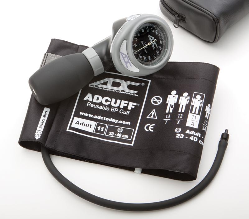 aneroid manometer. an adc 703 palm aneroid sphygmomanometer unit. manometer
